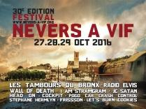 Bac FM radio officielle de la 30ème édition du festival Nevers à vif
