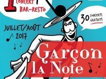 Bac FM partenaire de Garçon La Note